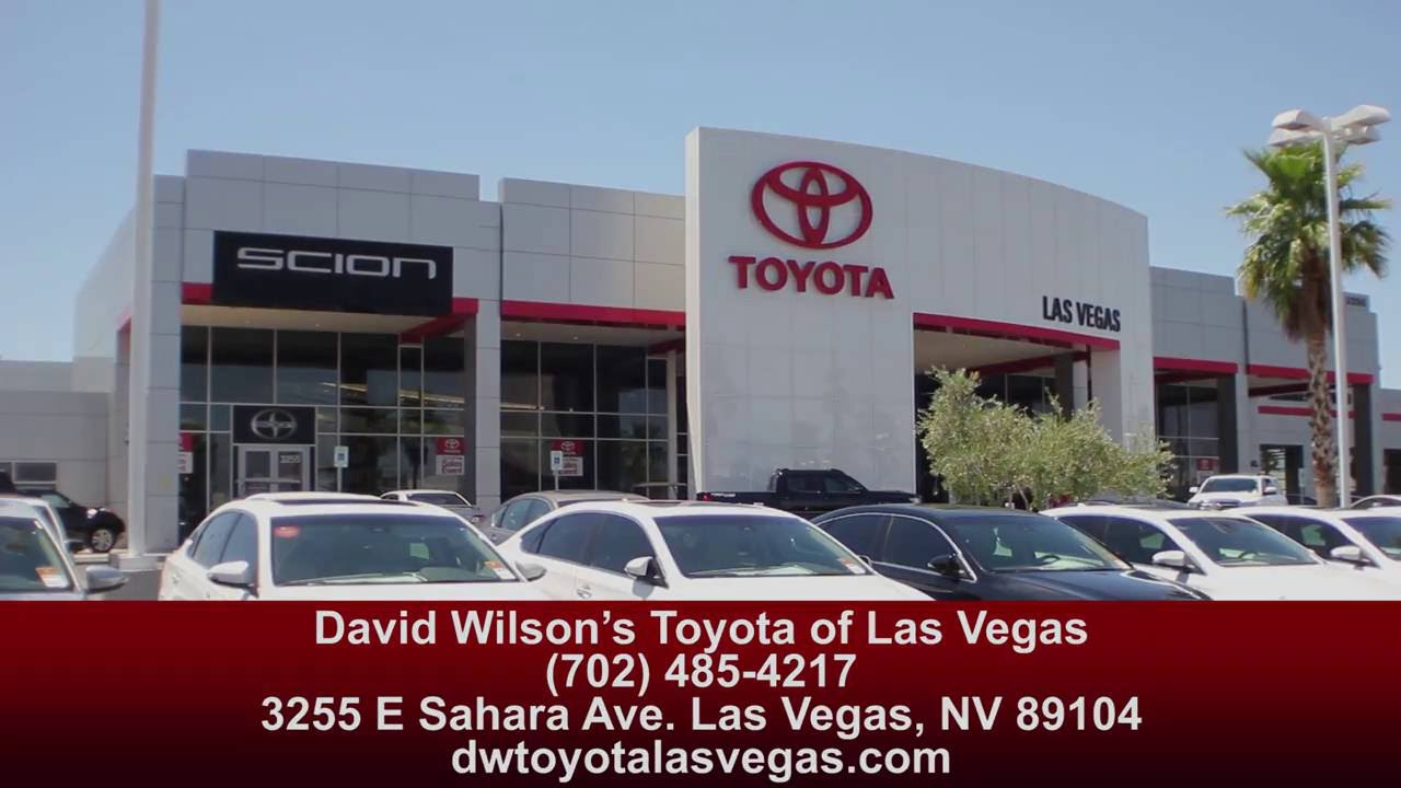 David Wilson's Toyota of Las Vegas - Your Hometown Dealer