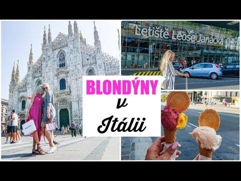 BLONDÝNY V ITÁLII