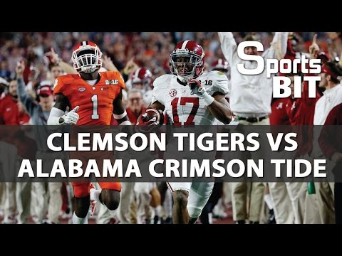 Sports BIT I Clemson Tigers vs Alabama Crimson Tide I College Football Picks