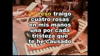 Cuatro Rosas - Jorge Celedon (Video)