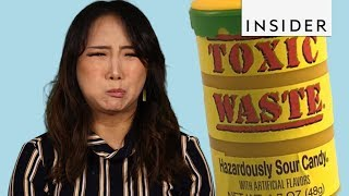 We Tried The Toxic Waste Challenge