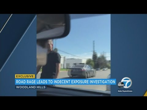 Man exposes himself to driver in Woodland Hills road rage incident I ABC7