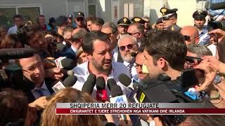 Shqipëria Merr 20 Refugjatë, Salvini Falenderon Shqipërinë - News, Lajme - Vizion Plus