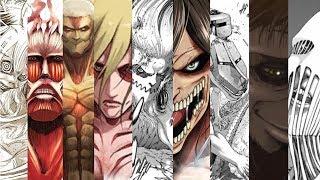 【進擊的巨人/Attack on Titan】純潔巨人&九大巨人介紹和推測 (All Nine Titans under Discussion)