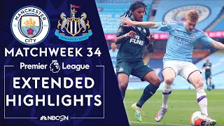 Manchester City v. Newcastle | PREMIER LEAGUE HIGHLIGHTS | 7/8/2020 | NBC Sports