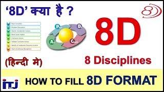 8D : 8 Disciplines of Problem Solving | How to Fill 8D Format | 8D क्या है ? | हिन्दी मे सीखे - ITJ