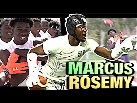 Georgia Commit | 6'3″ 195 | Marcus Rosemy '20 | St. Thomas Aquinas (FL) UTR Spotlight