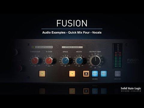 SSL Fusion - Quick Mix 4 - Vocals