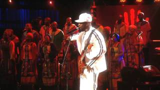"""Wyclef Jean performs """"Million Voices"""" at Mandela Day 2009 from Radio City Music Hall"""