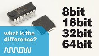 Understanding the differences between 8bit, 16bit, 32bit, and 64bit -- Arrow Tech Trivia