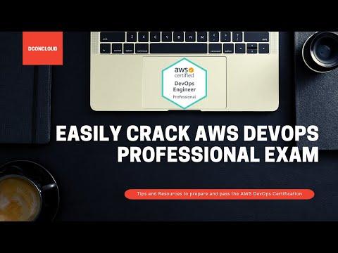 AWS DevOps Professional Certification Preparation 2021 - Pass ...