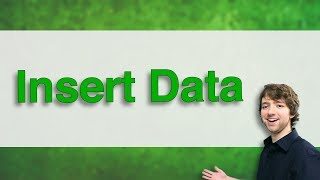Db2 SQL Tutorial 5 - Insert Data