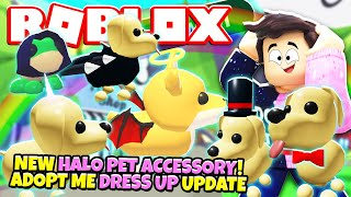 Brand New Pet Accessories In Adopt Me New Adopt Me Pet Accessory Update Roblox Minecraftvideos Tv