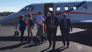 Watch new Florida coach Dan Mullen arrive in Gainesville