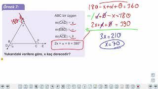 Eğitim Vadisi 9.Sınıf Matematik 22.Föy Üçgenler Konu Anlatım Videoları