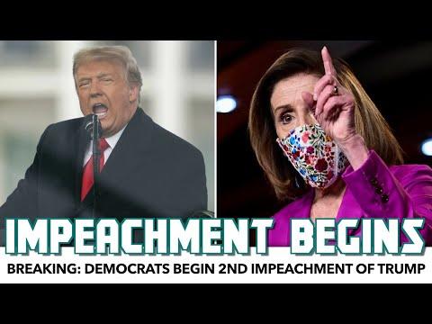Breaking: Democrats Begin 2nd Impeachment Of Donald Trump