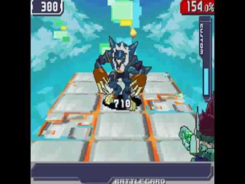 Ryuusei no Rockman 3/Megaman Starforce 3 Black Ace Boss:Wolf Woods