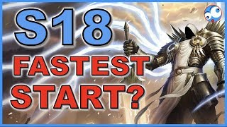 Which class has the fastest start Season 18 Diablo 3 (Patch 2.6.6)