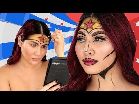 Make Up Halloween Simple Hijab.Female Superhero Costumes For Adult Women 2018 Ideas