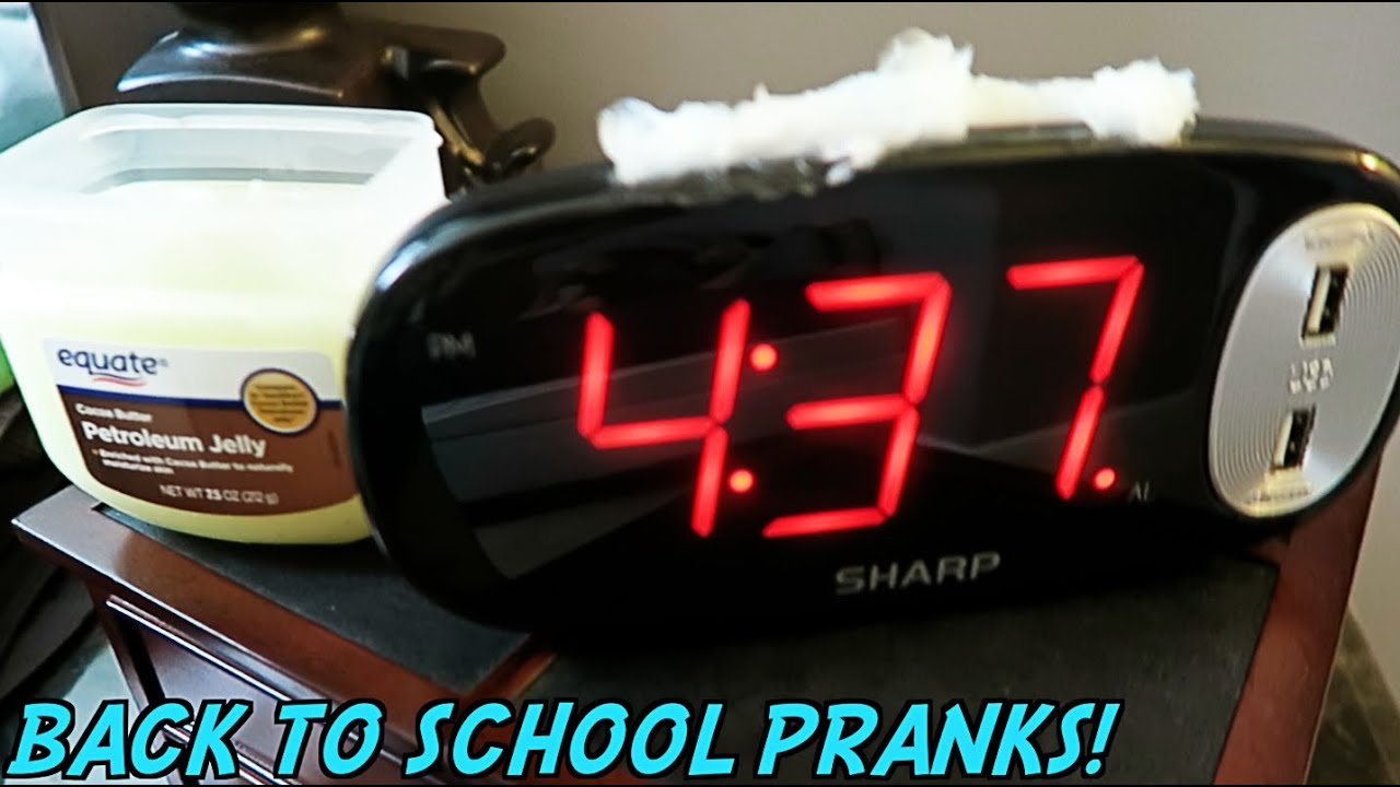 10 Funny Back To School Pranks