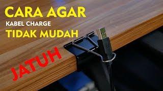 Cara Agar Kabel Charger Tidak Mudah Jatuh