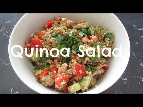 Video FOODiE: Quick, Simple & Healthy Quinoa Salad