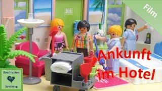 Playmobil Film Deutsch ANKUNFT IM HOTEL ♡ Playmobil Geschichten Mit Familie Miller