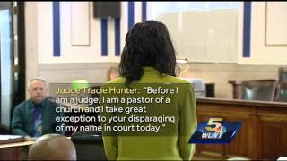 Judge Tracie Hunter berates prosecutors during trial, witnesses say