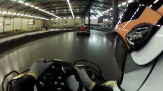 preview picture of video 'Daytona Indoor Kart Langenzersdorf GoPro2 Stundenrennen 21.11.2013'