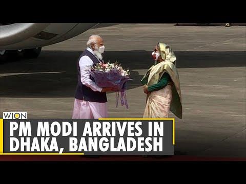 पीएम मोदी की बांग्लादेश यात्रा: भारतीय प्रधानमंत्री नरेंद्र मोदी ढाका पहुंचे अंग्रेजी समाचार