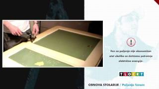 Obnova stolarije - Paljenje boje