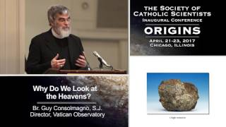 "Banquet Address:  ""Why Do We Look at the Heavens?""  Br. Guy Consolmagno, Director of the Vatican Observatory."
