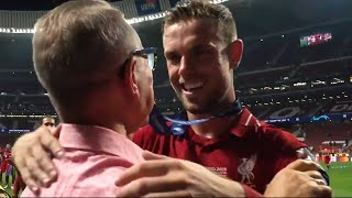 'Here's to you, Jordan Henderson'   A father's pride in the Liverpool captain