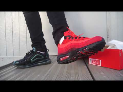 "Back to back NOPE's for Corey Nike Air Max 95 OG ""Habanero Red"" (Dope or Nope) + On Foot"