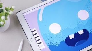 Doodle Animation on iPad pro | Roughanimator