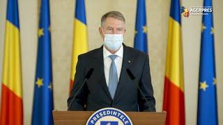 Iohannis: Am decis să convoc o şedinţă cu responsabilii pentru instituirea unor măsuri restrictive