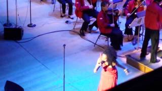 """Judith Hill (The Voice) performing """"A Beautiful Life"""" with Keith Lockhart & The Boston Pops"""