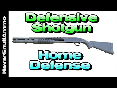 Setting up a Defensive Shotgun - Home Defense