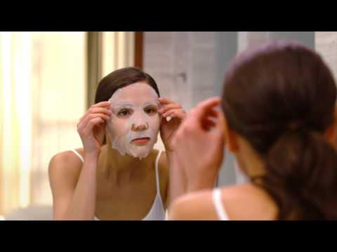 Mask para sa dry skin na may mummy