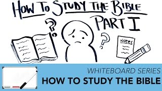 How to Study the Bible | Whiteboard Series - Impact Video Ministries