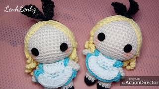 Alice In Wonderland Disney | Amigurumi Crochet Doll Tutorial | Tutorial Boneka Rajut