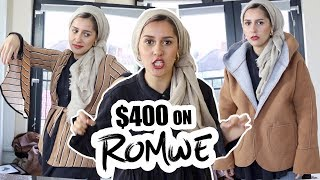 Download Youtube: I'M TOO FAT FOR ROMWE! | TRY ON HAUL!