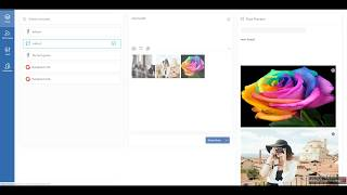 How to post multiple photos on Facebook and Twitter