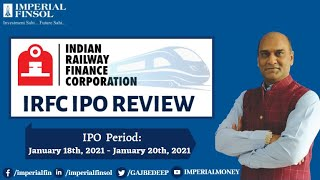 Indian Railway Finance Corporation Limited IPO Details | Upcoming IPO of 20