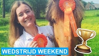 VLOG #30 Succesvol dressuur weekend! + English subtitles | felinehoi