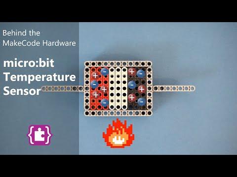 Temperature - Microsoft MakeCode