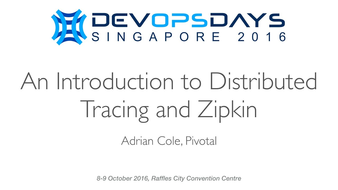 An Introduction to Distributed Tracing and Zipkin