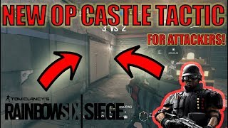 THE NEW CASTLE TACTIC! - Rainbow Six Siege Ranked Highlights