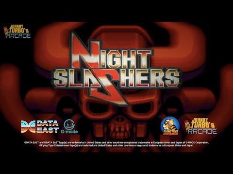 Johnny Turbo's Arcade: Night Slashers Trailer thumbnail