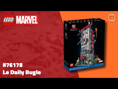 Vidéo LEGO Marvel 76178 : Le Daily Bugle